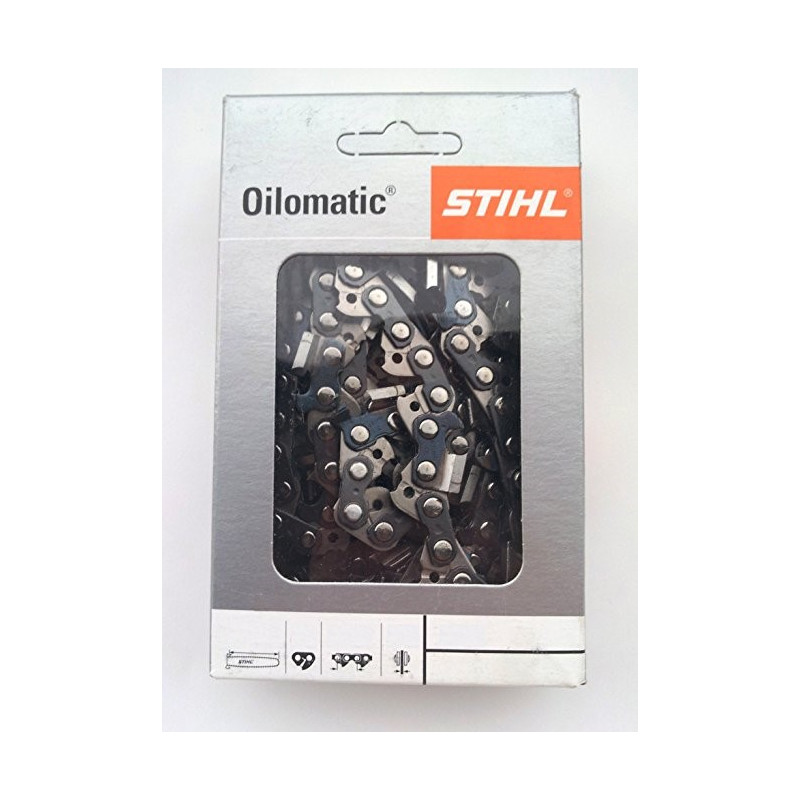 """CHAINE 1/4"""" PICCO MICRO 3, 64 ENTRAINEURS POUR GUIDE DE 30 CM, JAUGE 1,1 MM STIHL"""