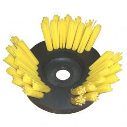 Brosse douce de désherbage en fils rislan pour débroussailleuse