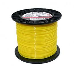 Fil débroussailleuse rond jaune 3,0mm 120m 901532E OREGON