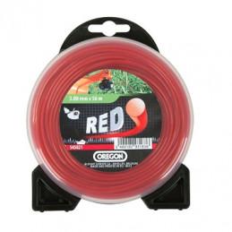 Fil débroussailleuse rond rouge 2.4 mm OREGON