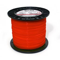 Fil débroussailleuse rond rouge 2,7 mm OREGON