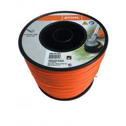 Rouleau fils nylon 261 m/2.4 mm ORANGE 9302246 STIHL