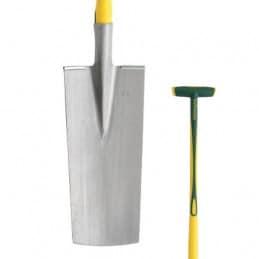 Louchet de pépiniériste 36 cm manche béquille Novagrip LEBORGNE
