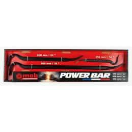 Lot de 3 pieds de biche Powerbar MOB