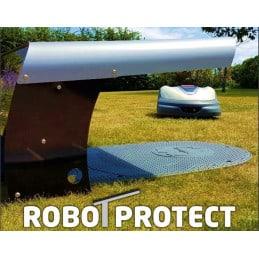 CLIPLIFT Abri pour robot toutes marques base INOX gris et noir