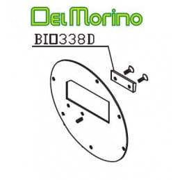 Contre couteau broyeur de végétaux Delmorino Pugio BIO338D