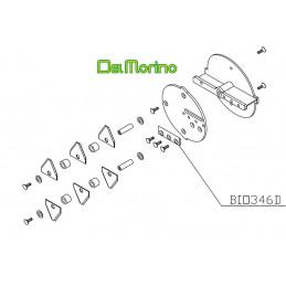 Couteau broyeur de végétaux Delmorino Pugio, BIO346D