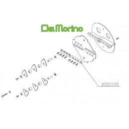 Couteau broyeur de végétaux Delmorino Scutum BIO559D