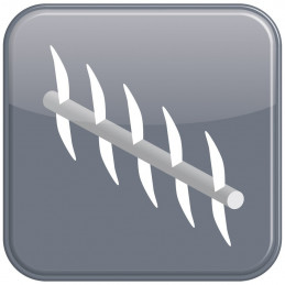 Couteau scarificateur MTD optima 35 vo 74205096, 742-05096