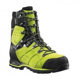 HAIX Chaussure CL2 T45,5 PROTECTOR ULTRA GREEN ANTICOUPURE 603108105