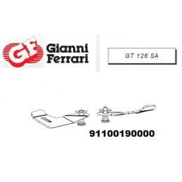 Kit de 2 lames droites Gianni Ferrari / Bieffebi 91100190000