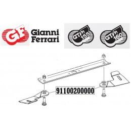Kit de 2 lames gauches Gianni Ferrari / Bieffebi 91100200000