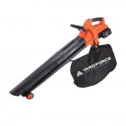 Souffleur de feuilles, aspirateur et broyeur à batterie 2x20V – YARD FORCE YAFLBC20