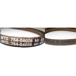 MTD COURROIE SCARIFICATEUR TRANSMISSION TRANSMATIC, 75404028, 754-04028