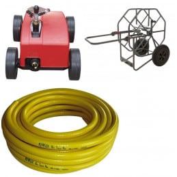 Arroseur automatique rollcart + devidoir + tuyau