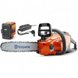 HUSQVARNA 120i PACK BLi20 + QC 80 Tronçonneuse à batterie