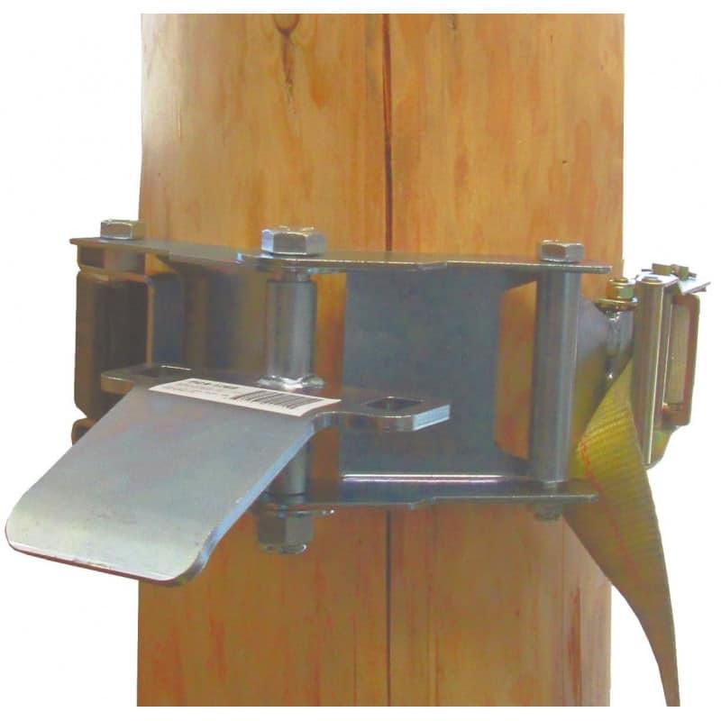 Système d'ancrage de treuil pour arbres. PORTABLE WINCH
