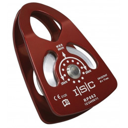 Poulie simple à côtés oscillants Ø63mm PORTABLE WINCH