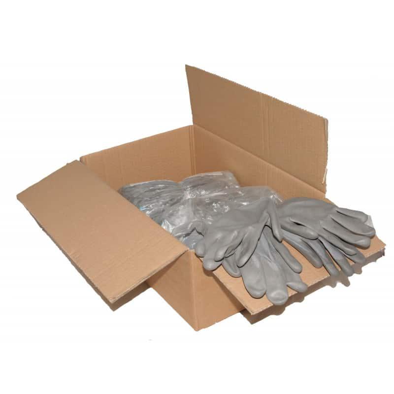 Gants tricotés polyamide gris GECOSAC