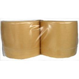 Bobine chamois gaufrée 235mm x 250m (lot de 2)