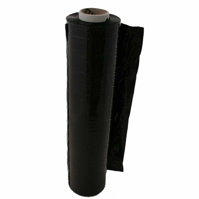 Rouleau de film étirable pour palette 23 microns noir GECOSAC