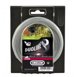 Fil débroussailleuse Duoline 2.4 mm OREGON