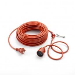 Rallonge électrique 25 m - 3 fils WOLF