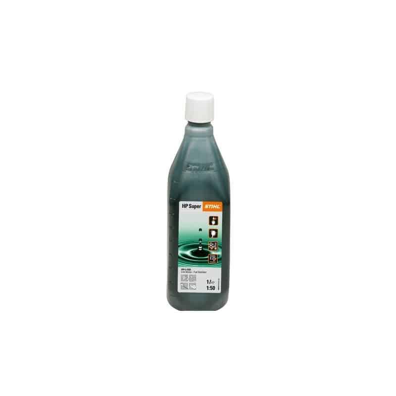 Flacon d'huile pour moteur 2 temps HP Super 1L avec gobelet doseur STIHL