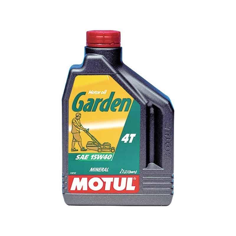 Huile moteur 4 temps 2L Garden 4T MOTUL
