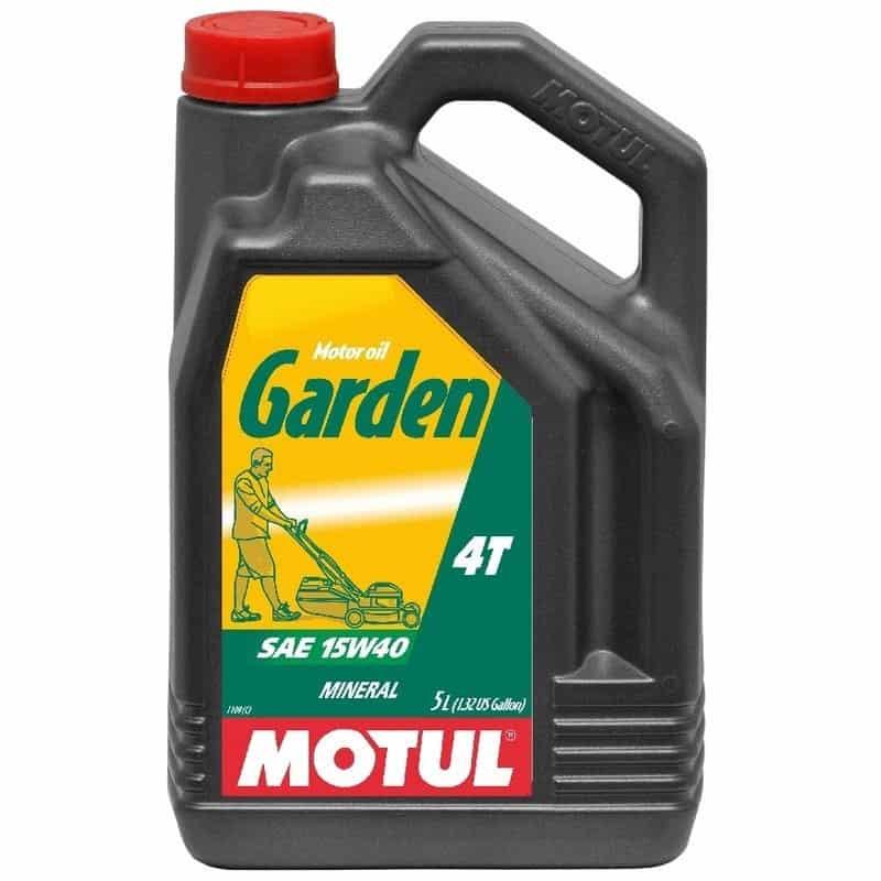 Huile moteur 4 temps 5L Garden 4T MOTUL