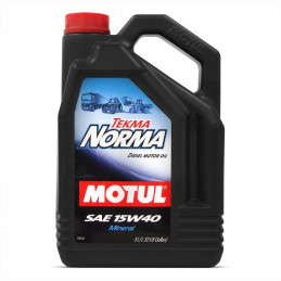 Huile pour moteur Diesel 5L Tekma Norma MOTUL