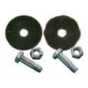 Vis, boulon + élément pour échenilloir K-6770 METALLO