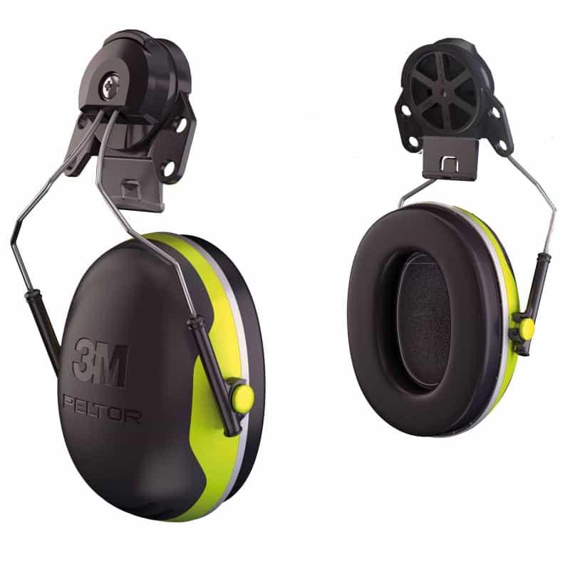Attaches casque antibruit X4P3 PELTOR
