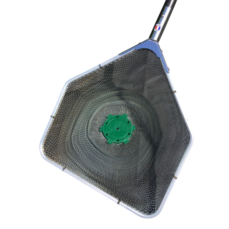 Epuisette avec manche filet 7mm
