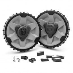 Kit roues terrain pentu/accidenté pour robots 420-430X-440 & 450X HUSQVARNA