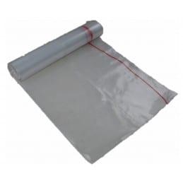 Carton 200 sacs poubelle transparent 130L 70X110 45 microns