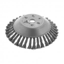 Brosse de désherbage pour débroussailleuse diamètre 200 mm alésage 20 BRM20020