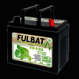 Batterie pour tracteur tondeuse U1R-9 12V/28 Ah étanche prête à l'emploi FULBAT